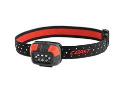 Coast FL44 Headlamp LED with 3 AAA Batteries Aluminum Black