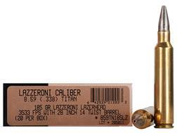 Lazzeroni Ammunition 8.59 Titan 185 Grain LazerHead Copper X Bullet Boat Tail Lead-Free Box of 20