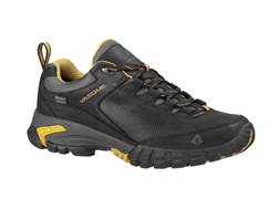 "Vasque Talus Trek UltraDry 4"" Waterproof Hiking Shoes Synthetic and Leather Black and Dried Tobac..."