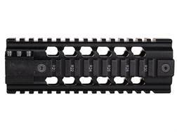 ERGO 2-Piece Z Rail Free Float Handguard Quad Rail AR-15 Carbine Length Aluminum Black