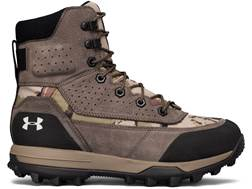 "Under Armour UA Speed Freek Bozeman 2.0 8"" Waterproof 600 Gram Insulated Hunting Boots Leather/Sy..."