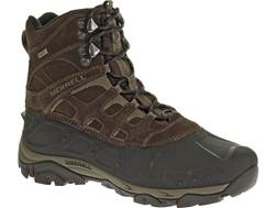 """Merrell Moab Polar 6"""" Waterproof 400 Gram Insulated Hiking Boots Leather/Synthetic Men's"""