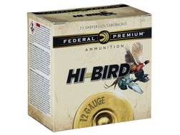 "Federal Premium Hi-Bird Dove, Pigeon, and Upland Ammunition 12 Gauge 2-3/4"" 1-1/4 oz #7-1/2 Shot"