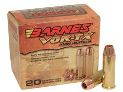 Barnes VOR-TX Ammunition 44 Remington Magnum 225 Grain XPB Hollow Point Lead-Free Box of 20