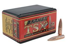 Barnes Triple-Shock X Bullets 284 Caliber, 7mm (284 Diameter) 160 Grain Hollow Point Flat Base Le...