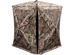 "Primos The Club Ground Blind 48"" x 48"" x 65"" Dura Matte Fabric Mossy Oak Break Up Country Camo"