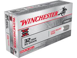 Winchester Super-X Ammunition 32 S&W 85 Grain Lead Round Nose