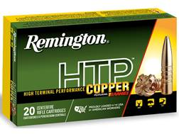 Remington HTP Copper Ammunition 270 Winchester 130 Grain Barnes Triple-Shock X Hollow Point Lead-...