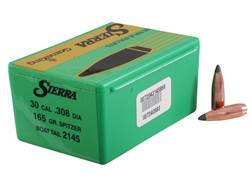 Sierra GameKing Bullets 30 Caliber (308 Diameter) 165 Grain Spitzer Boat Tail Box of 100