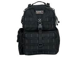 G.P.S. Tactical Range Bag Backpack Black