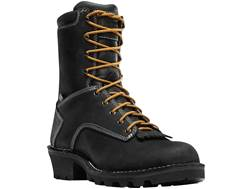 "Danner Logger 8"" Waterproof Work Boots Full-Grain Leather Men's"
