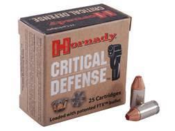 Hornady Critical Defense Ammunition 380 ACP 90 Grain Flex Tip eXpanding Box of 25