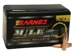 Barnes TAC-X Bullets 22 Caliber (224 Diameter) 62 Grain Hollow Point Boat Tail Lead-Free Box of 50
