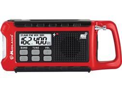 Midland ER210 E+Ready Emergency Crank Radio with NOAA Red