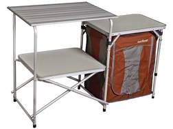 Camp Chef Mountain Series Mesa Cook Station Camp Table Aluminum