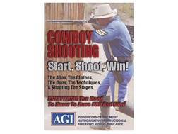 "American Gunsmithing Institute (AGI) Video ""How-To Cowboy Action Shooting Course"" DVD"