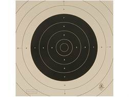 NRA Official International Pistol Targets Repair Center B-19C 25/50 Yard Slow Fire Paper Pack of 100