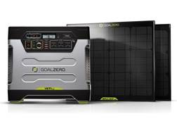 GoalZero Yeti 1250 Solar Generator Kit with 2 Boulder 30 Solar Panels