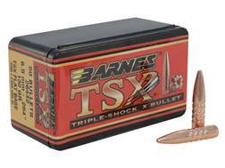 Barnes Triple-Shock X (TSX) Bullets 264 Caliber, 6.5mm (264 Diameter) 130 Grain Hollow Point Flat...