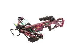PSE Fang LT Crossbow Package with 4x32 Multi-Reticle Scope Mossy Oak Break-Up Camo