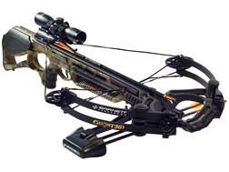 Barnett Ghost 360 CRT Crossbow Package with 3 x 32mm Multi-Reticle Scope Mossy Oak Break-Up Infin...