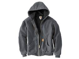 Carhartt Men's Quilted Flannel Lined Sandstone Active Jacket Cotton