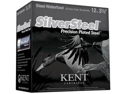 "Kent Cartridge SilverSteel Precision Plated Steel Ammunition 12 Gauge 3-1/2"" 1-1/2 oz BB Non-Toxi..."