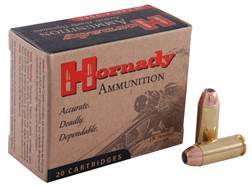 Hornady Custom Ammunition 10mm Auto 155 Grain XTP Jacketed Hollow Point Box of 20