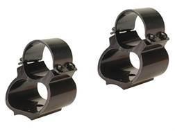 """Weaver 1"""" Steel Lock See-Thru Ring Mount Browning BAR, BLR Matte"""