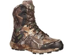 "Rocky Broadhead 8"" Waterproof 800 Gram Insulated Hunting Boots Ripstop Realtree Xtra Camo Men's"