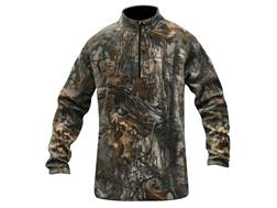 MidwayUSA Men's Level Three 1/4 Zip Base Layer Shirt Realtree Xtra Camo Large