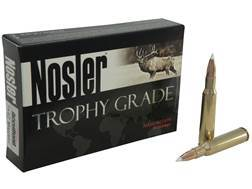 Nosler Trophy Grade Ammunition 7x57mm Mauser (7mm Mauser) 140 Grain AccuBond Box of 20