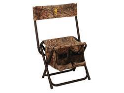 Browning Dove Shooter Chair Steel Frame Nylon Seat Mossy Oak Shadow Grass Blades Camo