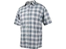 Tru-Spec Men's 24-7 Plaid Camp Shirt Short Sleeve Nylon/Polyester Blend