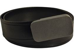 """Lenwood Leather Blunt Force Trauma Webbing Belt 1.5"""" Stainless Steel Buckle PVC Coated Polyester"""