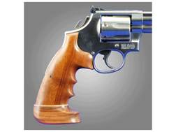 Hogue Fancy Hardwood Grips with Accent Stripe, Finger Grooves and Contrasting Butt Cap Colt Diamo...