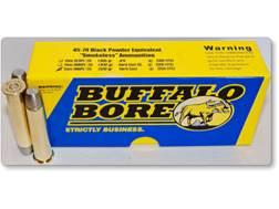 Buffalo Bore Smokeless Blackpowder Equivalent Ammunition 45-70 Government 500 Grain Hard Cast Pla...