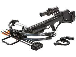 Stryker Solution Crossbow Package with Multi-Reticle Scope Black