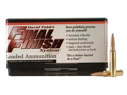 Tubb Final Finish Bore Lapping Ammunition 223 Remington Box of 20