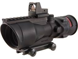 Trijicon ACOG Rifle Scope 6x 48mm Dual-Illuminated with 6.5 MOA RMR Type 2 Red Dot Sight Colt Kno...