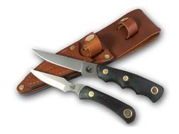 Knives of Alaska Jaeger/Cub Bear Combination Fixed Blade Knife Set D2 Tool Steel Blades SureGrip ...