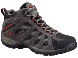 """Columbia Redmond Mid 6"""" Waterproof Hiking Boots Leather/Synthetic"""