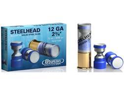 """DDupleks Steelhead Monolit 28 Ammunition 12 Gauge 2-3/4"""" 1 oz Solid Steel Slug Lead-Free Box of 5"""