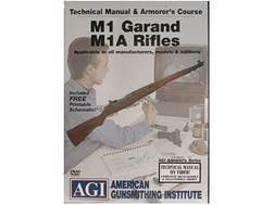 "American Gunsmithing Institute (AGI) Technical Manual & Armorer's Course Video ""M1 Garand, M1A Ri..."