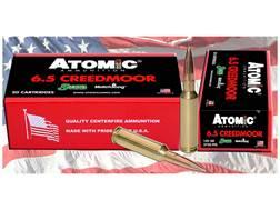 Atomic Ammunition 6.5 Creedmoor 142 Grain Sierra MatchKing Hollow Point Boat Tail Box of 20