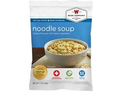 Wise Company Long Term 25 Year 4 Serving Chicken Noodle Soup Freeze Dried Food