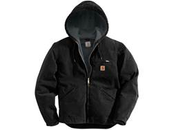 Carhartt Men's Sierra Sherpa Lined Sandstone Hooded Jacket Cotton