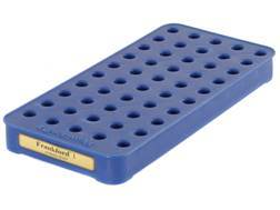 Frankford Arsenal Perfect Fit Reloading Tray #1 25 ACP, 7.65 French MAS 50-Round Blue