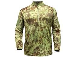 Kryptek Men's Valhalla Minimalist Shirt 1/4 Zip Long Sleeve Polyester