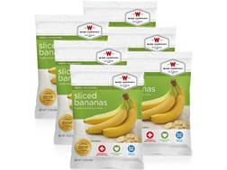 Wise Company Long Term 25 Year 4 Serving Sliced Bananas Freeze Dried Food